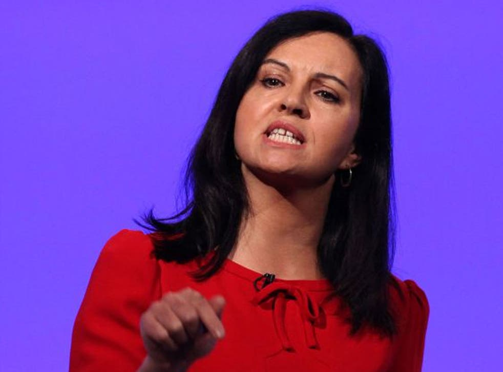 Caroline Flint, the shadow Energy Secretary