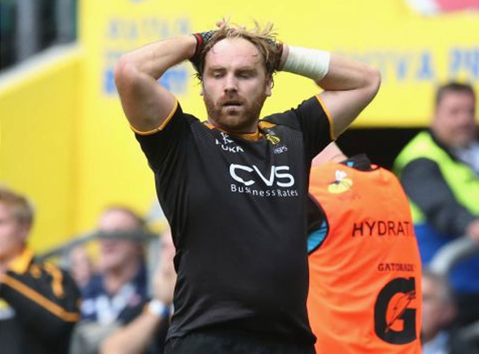 If Andy Goode held his head in his hands as the final whistle blew, who could blame him?