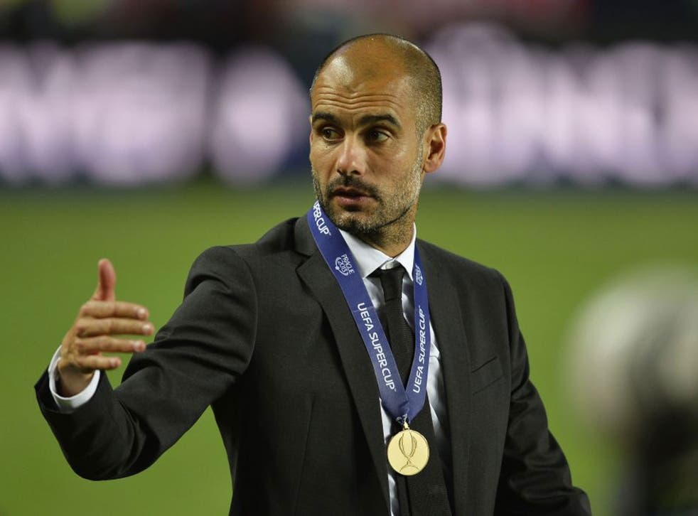 The intermediary indicated Guardiola felt he could improve England