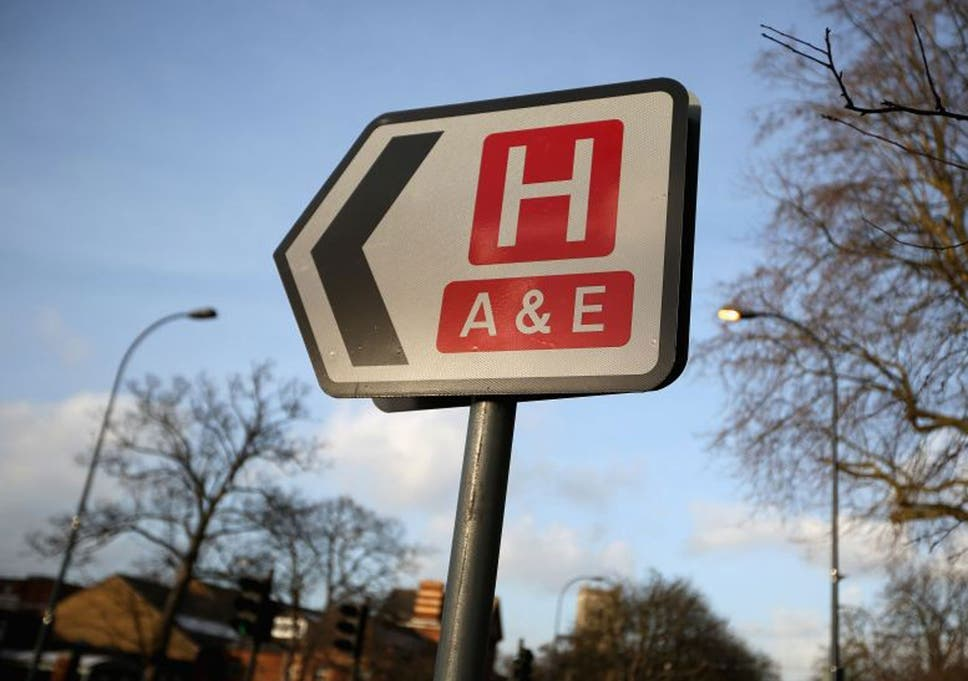 Accident waiting to happen: A&E departments 'on the brink of