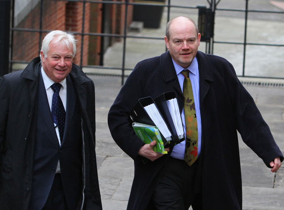 Chris Patten, left, chairman of the BBC Trust, and Mark Thompson, the former Director-General