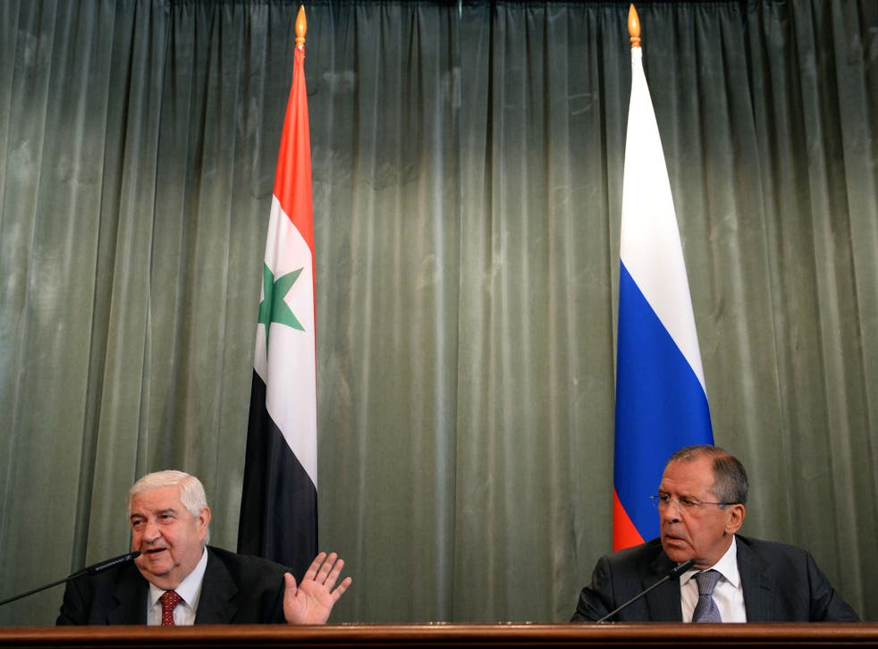 Sergei Lavrov, the Russian foreign minister, announced the proposal after talks in Moscow with his Syrian counterpart, Walid al-Moallem