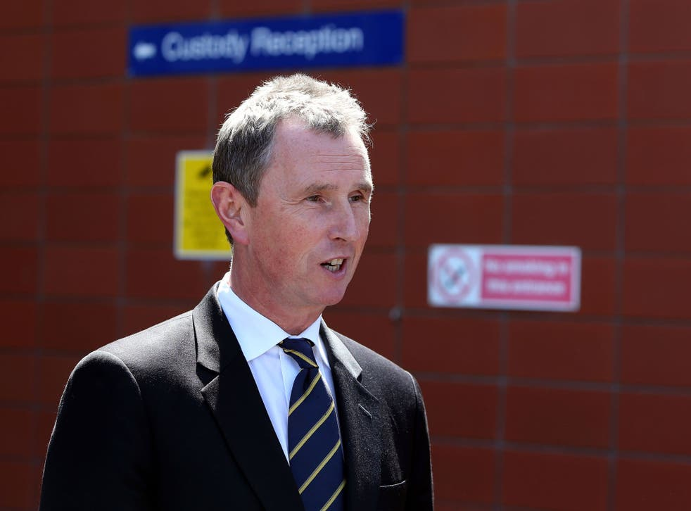 Nigel Evans resigned as deputy speaker to fight the charges