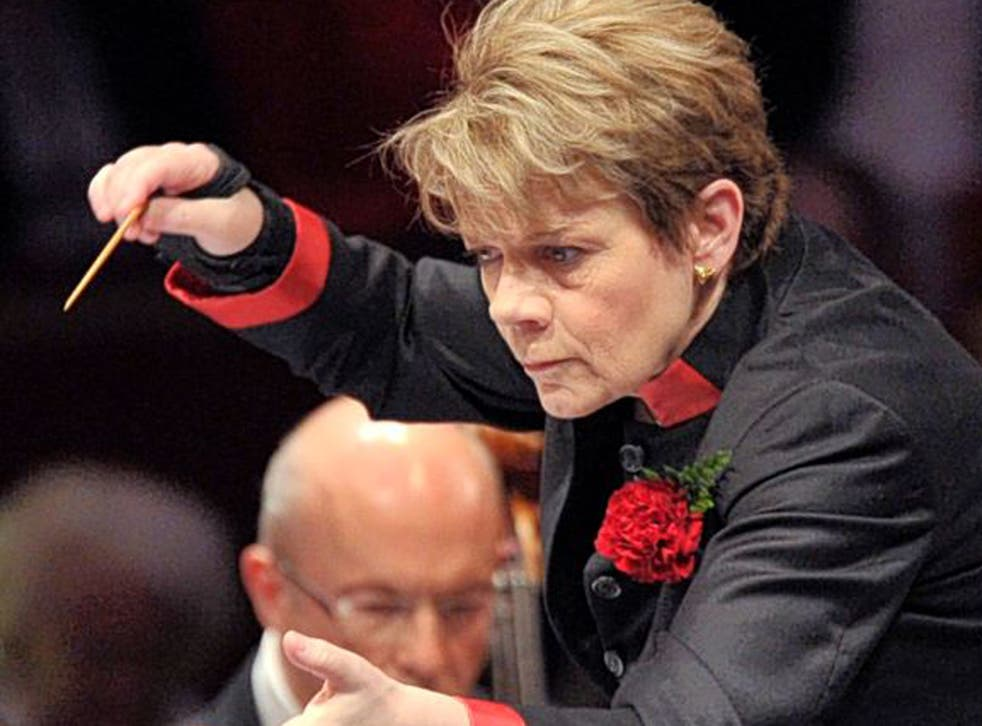 Hitting the high notes: Marin Alsop