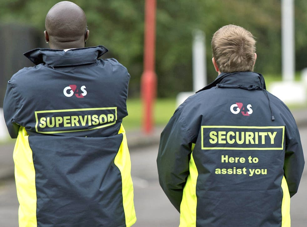 G4S security at the 2012 Games in London