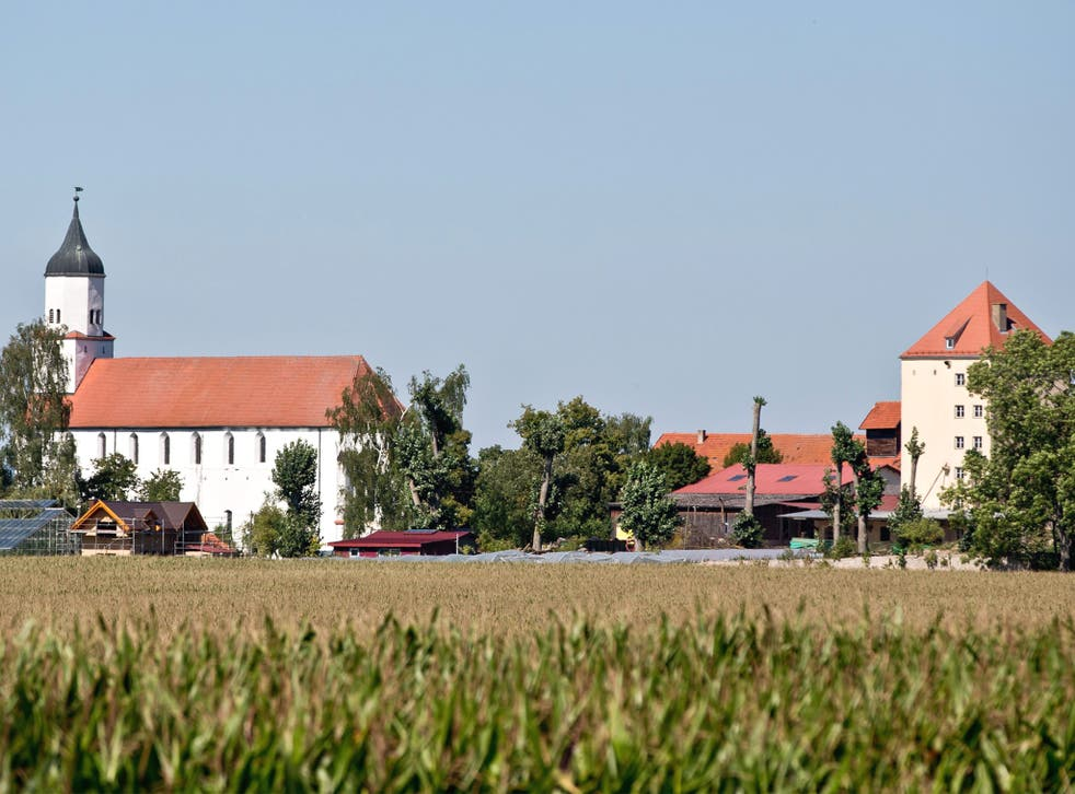 The village of Klosterzimmern near Deiningen in Bavaria serves as a base for the secretive sect