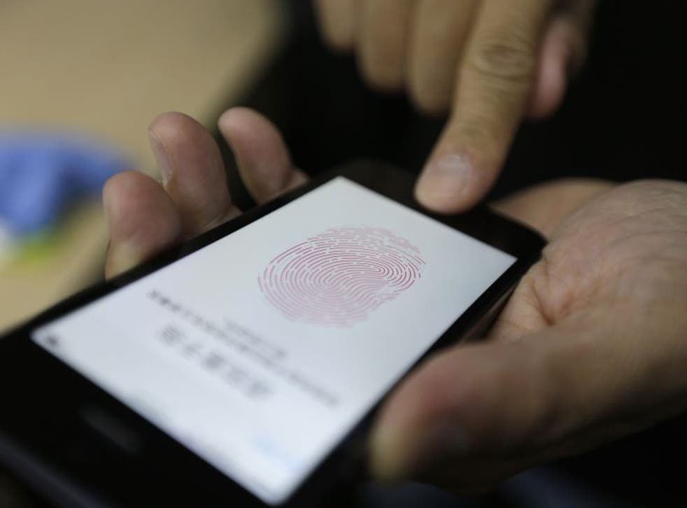 The Touch ID feature on the iPhone 5S allows users to unlock their phone using their fingerprint