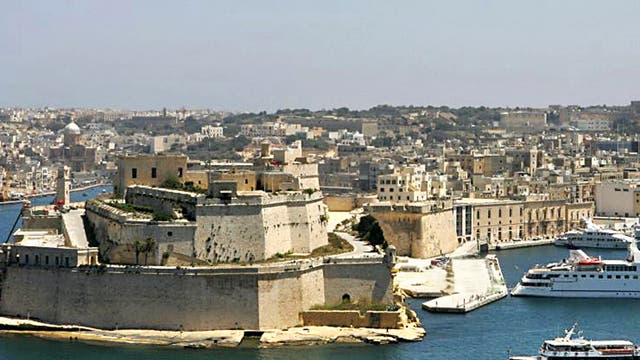 Rock star: the capital's Grand Harbour