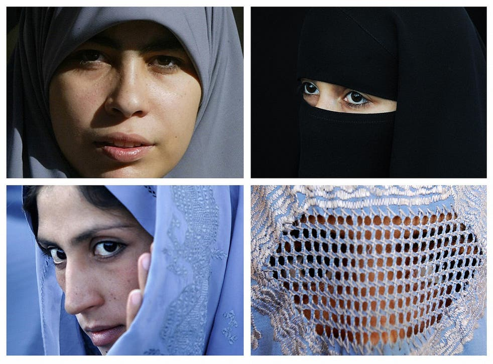 Muslims often cover their heads and faces as an act of religious value. (Women pictured are not those in the story.)
