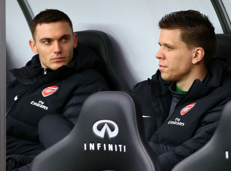 Thomas Vermaelen lost his place in the Arsenal team last season