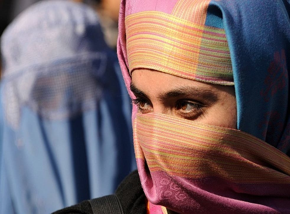 Muslim women at the college will be permitted to wear religious veils again (stock image)