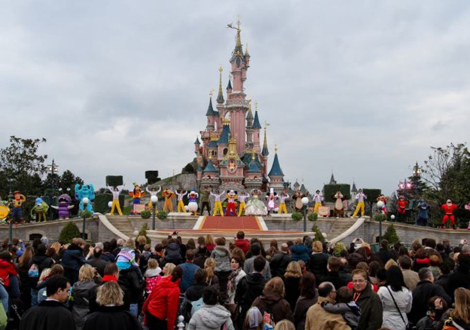 Sex scandal at disneyland paris