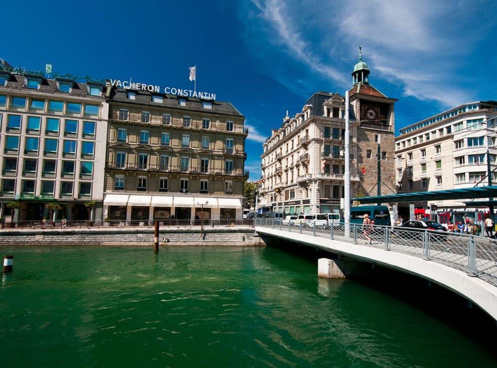 Rhône ranger: the scenic river in Geneva