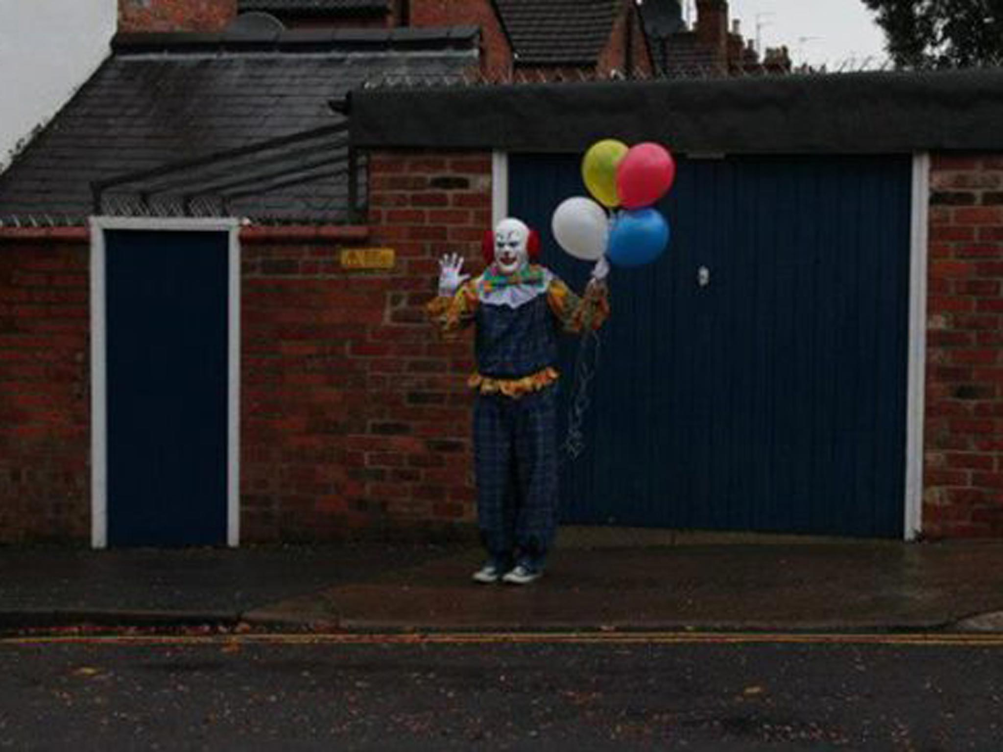 Northampton Clown Is Unmasked As Student And Film Maker Alex Powell  The  Independent