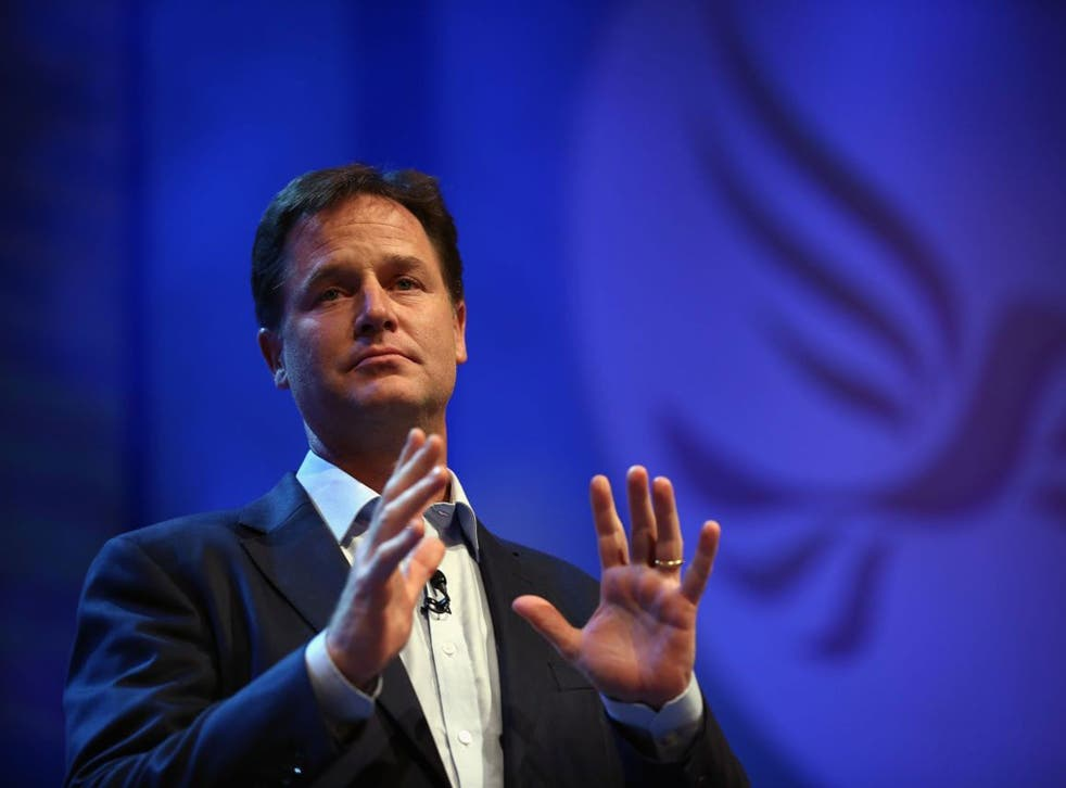 Nick Clegg has dismissed reports of a rift with Business Secretary Vince Cable as just 'a storm in a teacup'