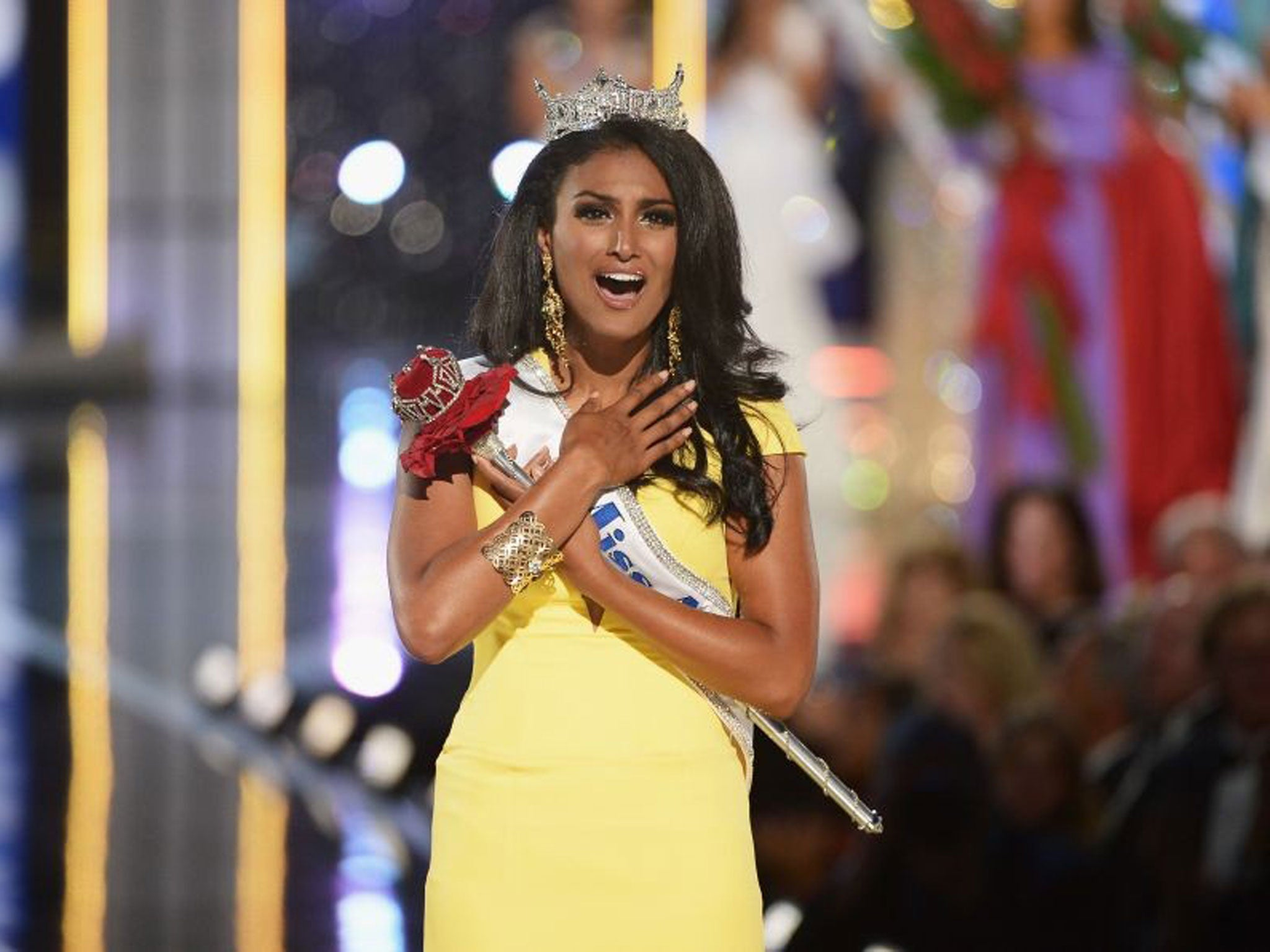 Nina Davuluri - The First Miss America Winner From Indian -8033