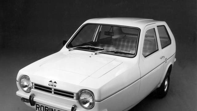 The Reliant Robin has been voted the worst car of all time