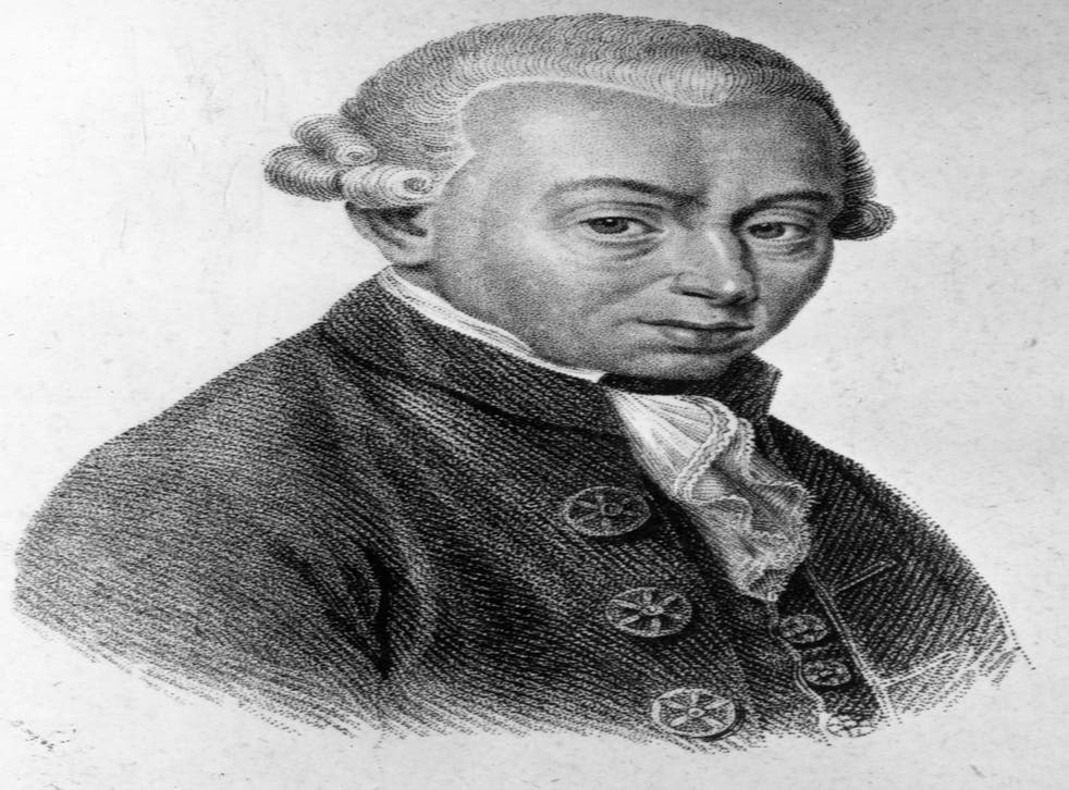 Immanuel Kant: The philosopher inspired such a debate in Russia that a man was shot several times with rubber bullets