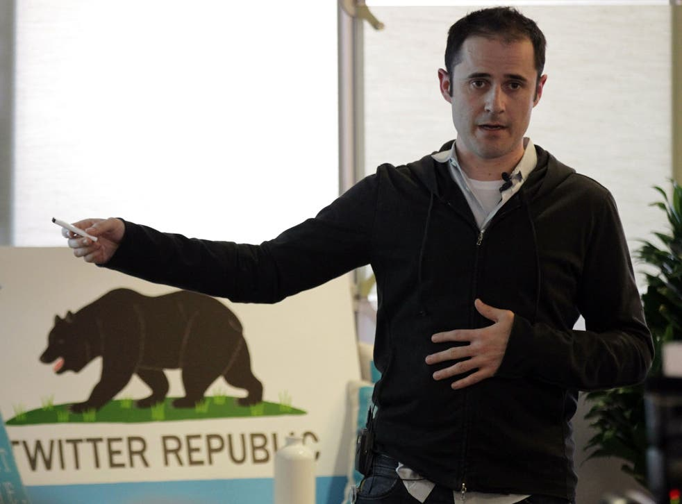 Evan Williams, CEO and co-founder of Twitter, at their headquarters. He is now working on a new website, Medium