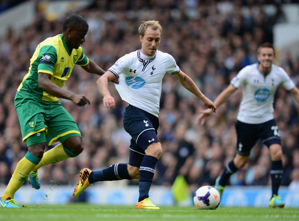 Christian Eriksen was pinpointed by Lineker