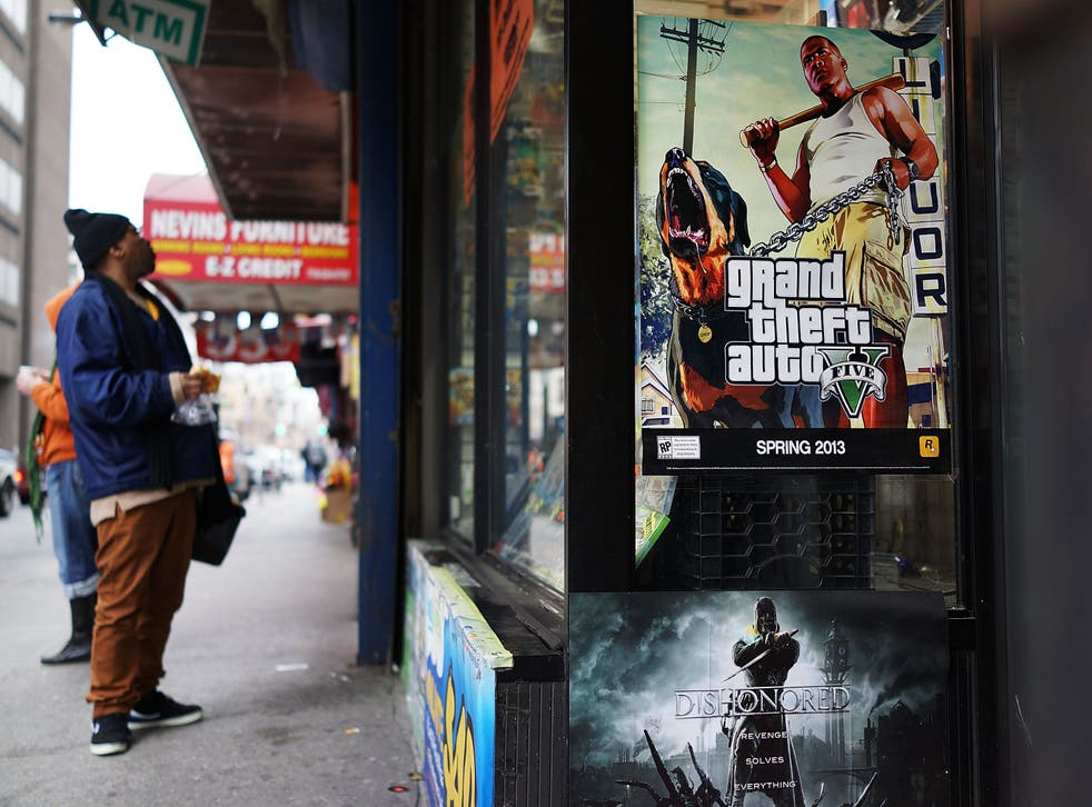 The victim was stabbed and robbed less than two hours after buying Grand Theft Auto V