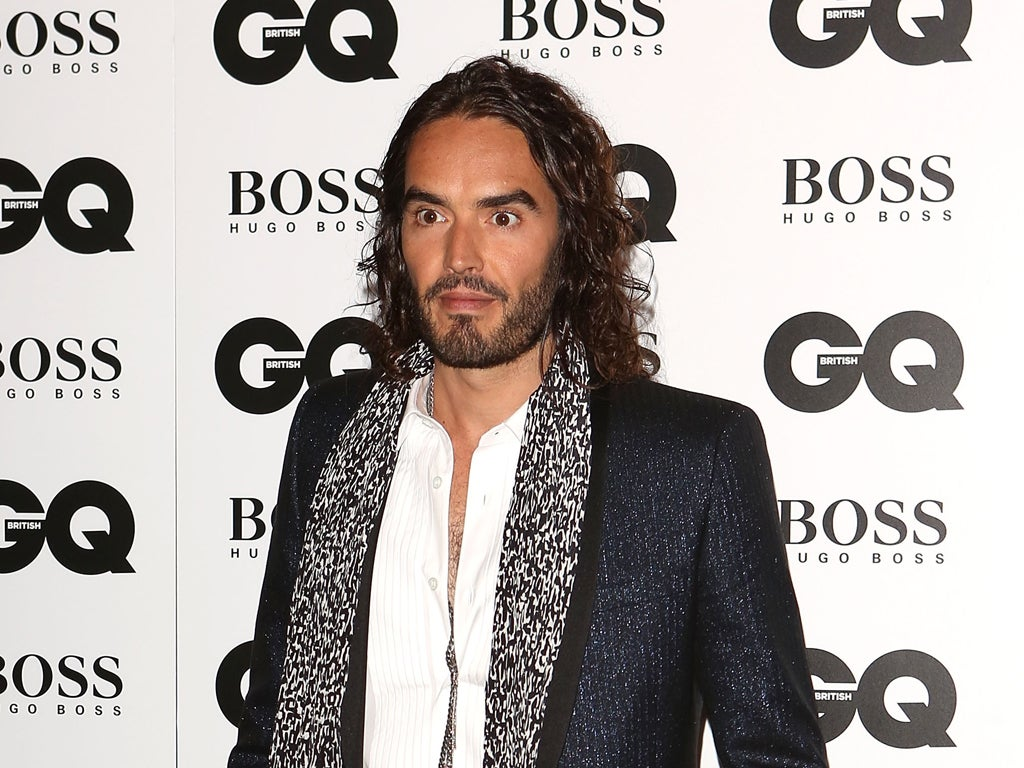 Handsome, talented and anti-establishment: It's not hard to see why Russell Brand is good with women