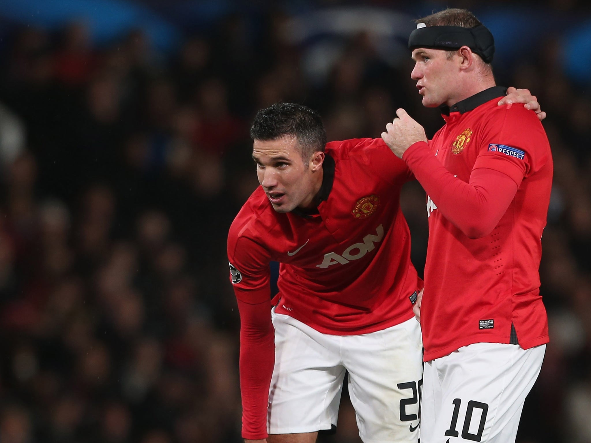Robin van persie talks up importance of partnership with wayne robin van persie talks up importance of partnership with wayne rooney amid manchester united woes the independent fandeluxe Document