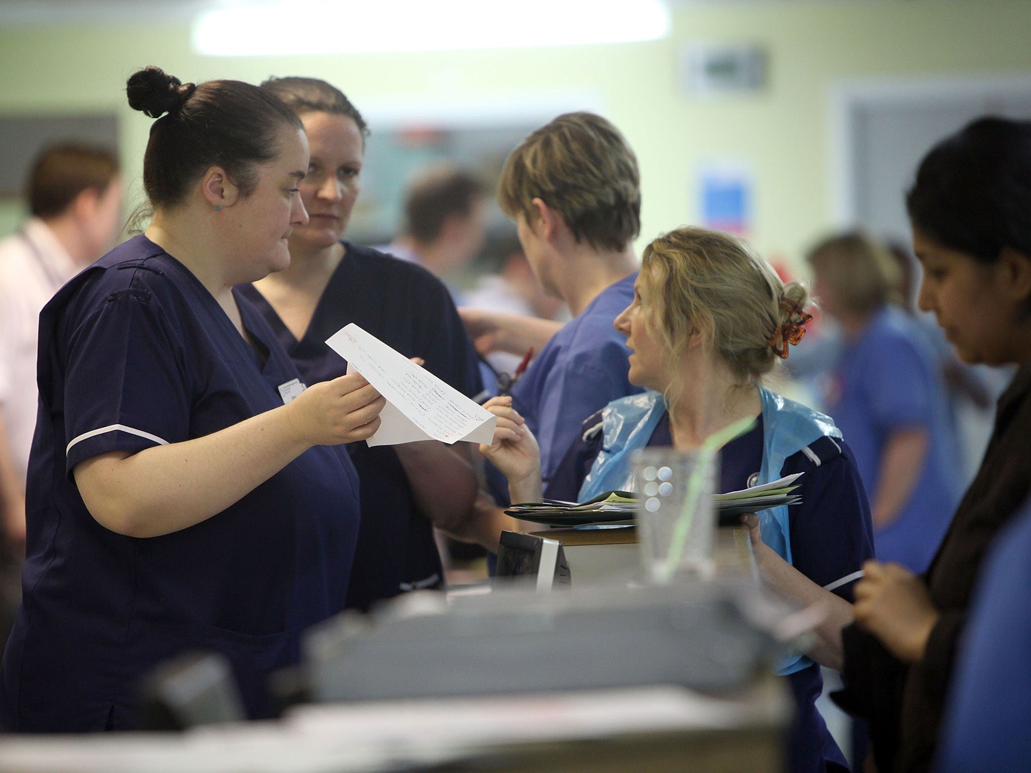 Cherish nurses. They're the heartbeat of the NHS