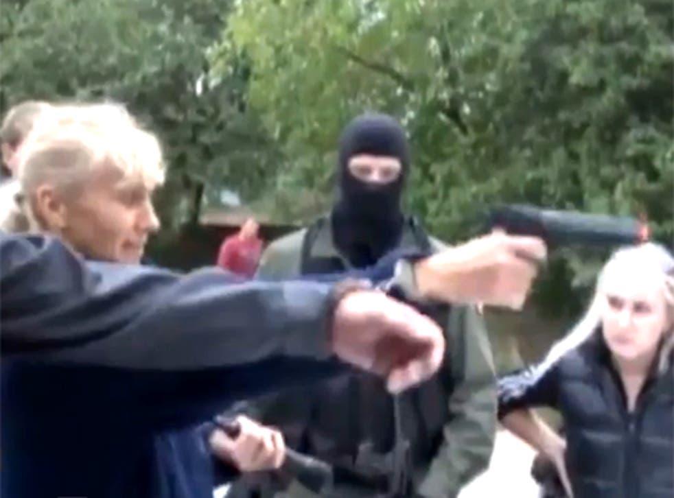 Inessa Tarverdiyeva re-enacts her crimes on Russian television