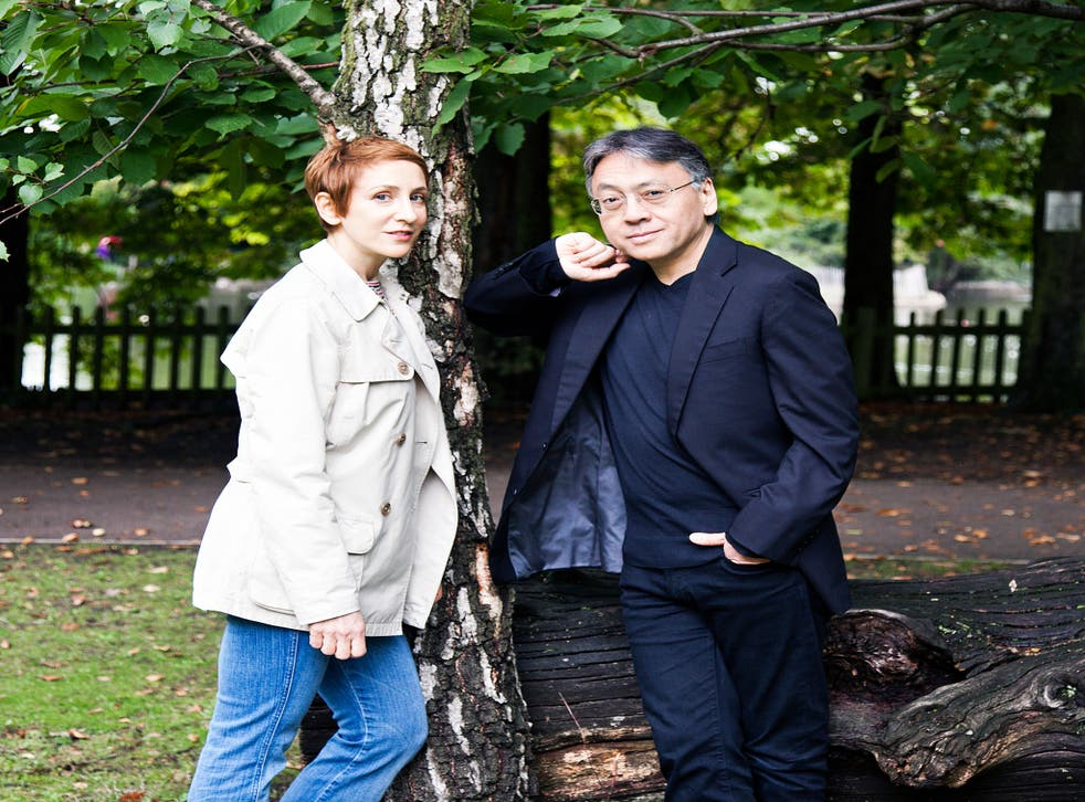 Ishiguro says of Kent: 'Her approach as a singer is similar to my approach as a writer: when I hear her sing I feel she captures a sense of internality'