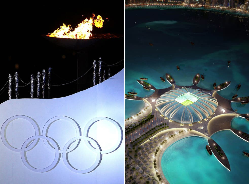 Switching the World Cup in Qatar threatens to clash with the 2022 winter Olympics