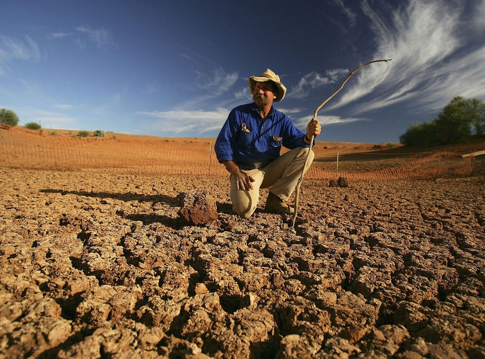 Places such as Leigh Creek have suffered from extreme weather; more than 123 heat records were broken in Australia last summer
