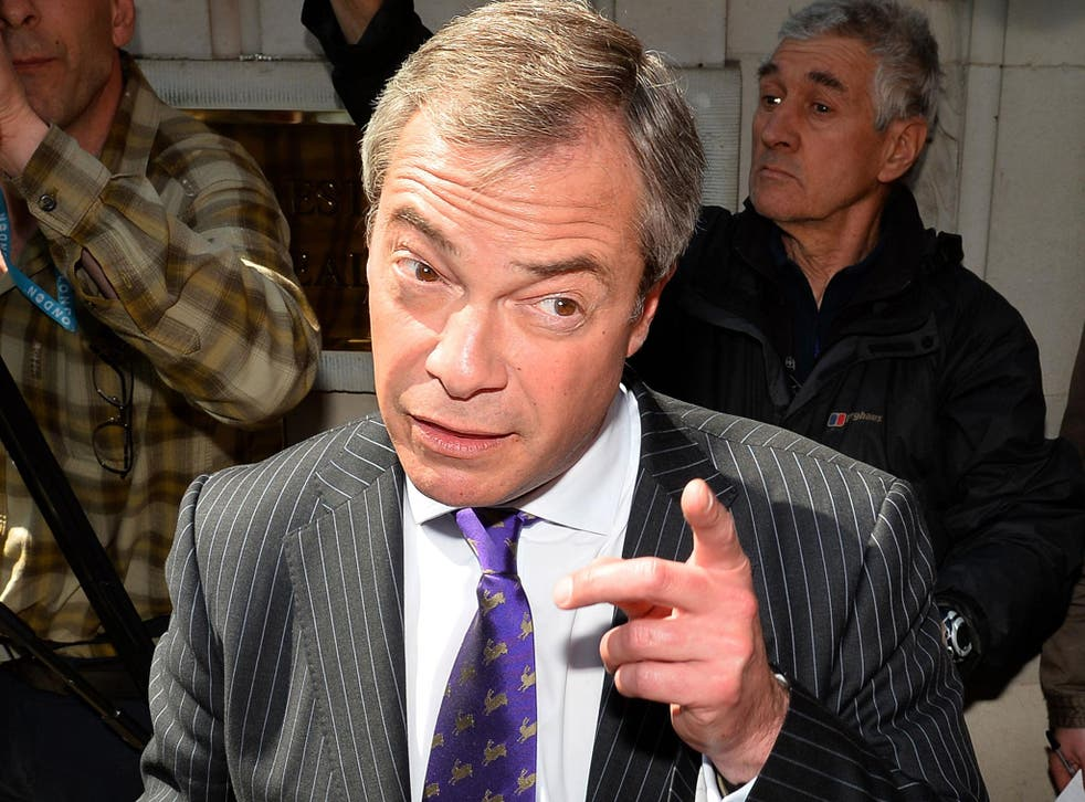 Nigel Farage: 'If the Coalition wants to save their electoral skins, they must tell Brussels we will not open our doors'