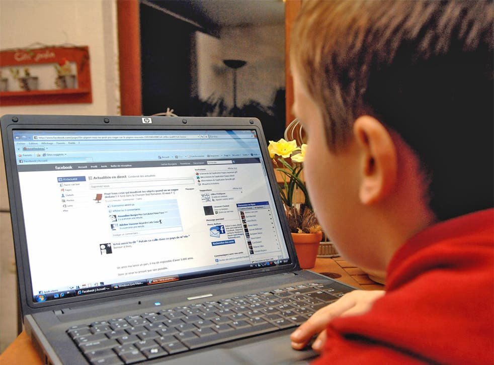 Thousands of British children have been targeted by internet blackmailers hiding behind fake social network profiles