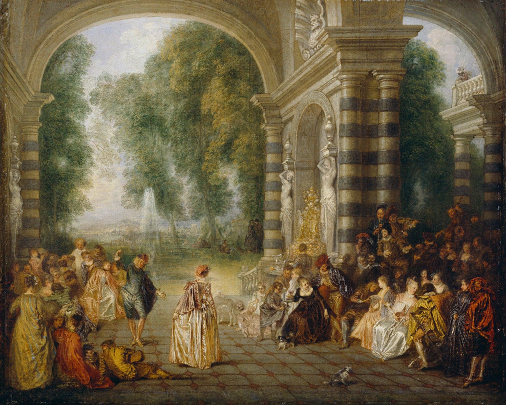 Great works: Les Plaisirs du Bal (The Pleasures of the Dance) c. 1715-17 by Jean-Antoine Watteau