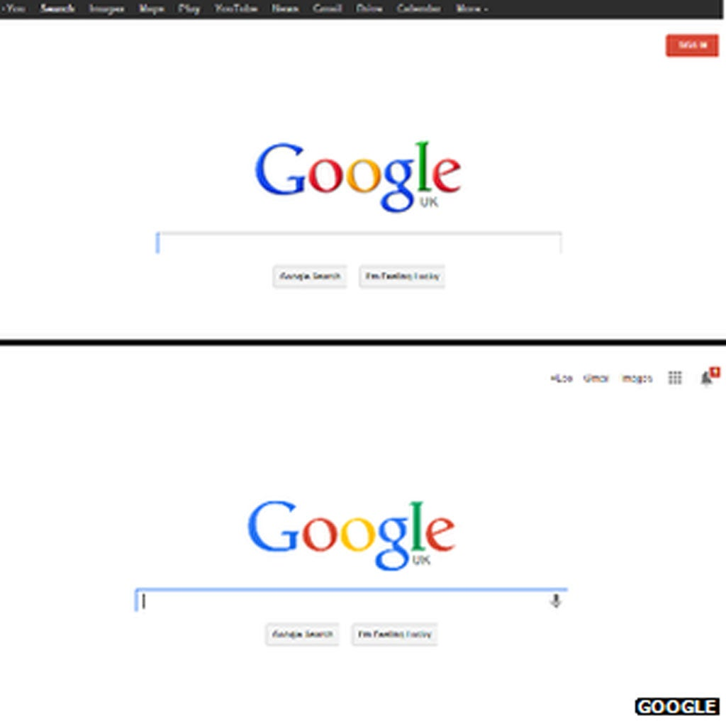 Google Redesigns Its Logo And Home Page
