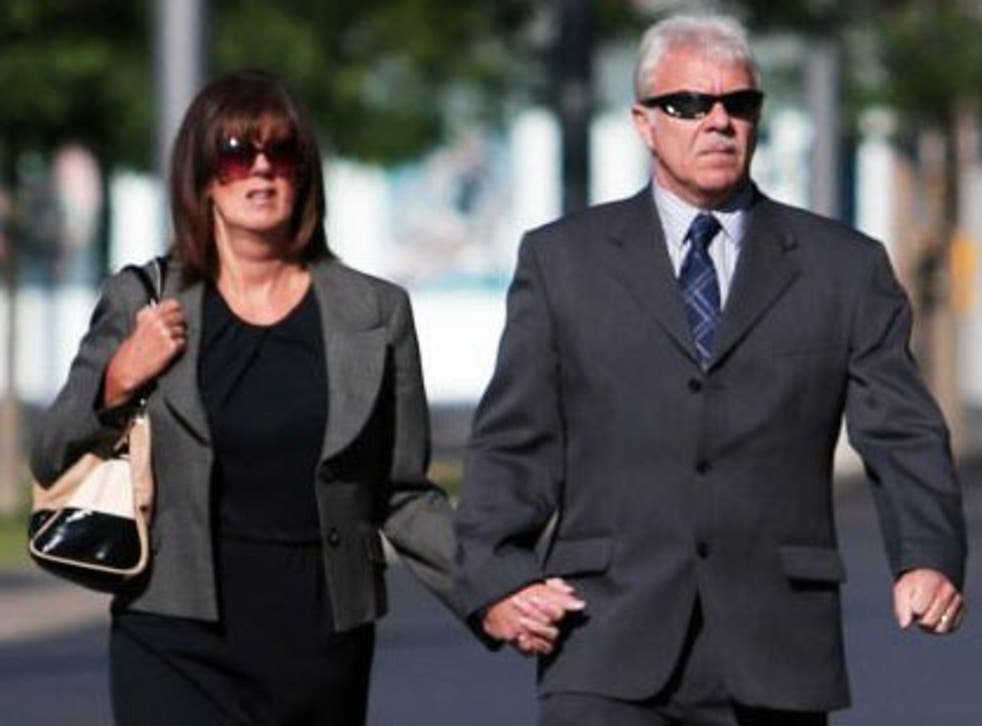 Andrew and Lesley Reeve, who will today be sentenced at Teesside Crown Court