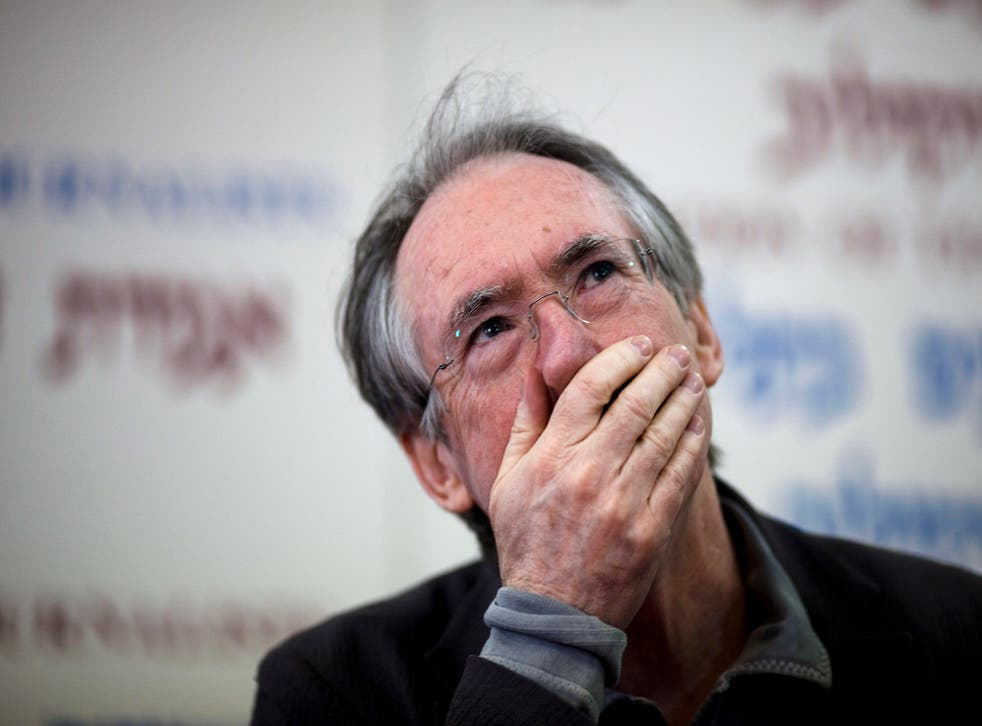 Ian McEwan has responded to anger over his comments on gender identity