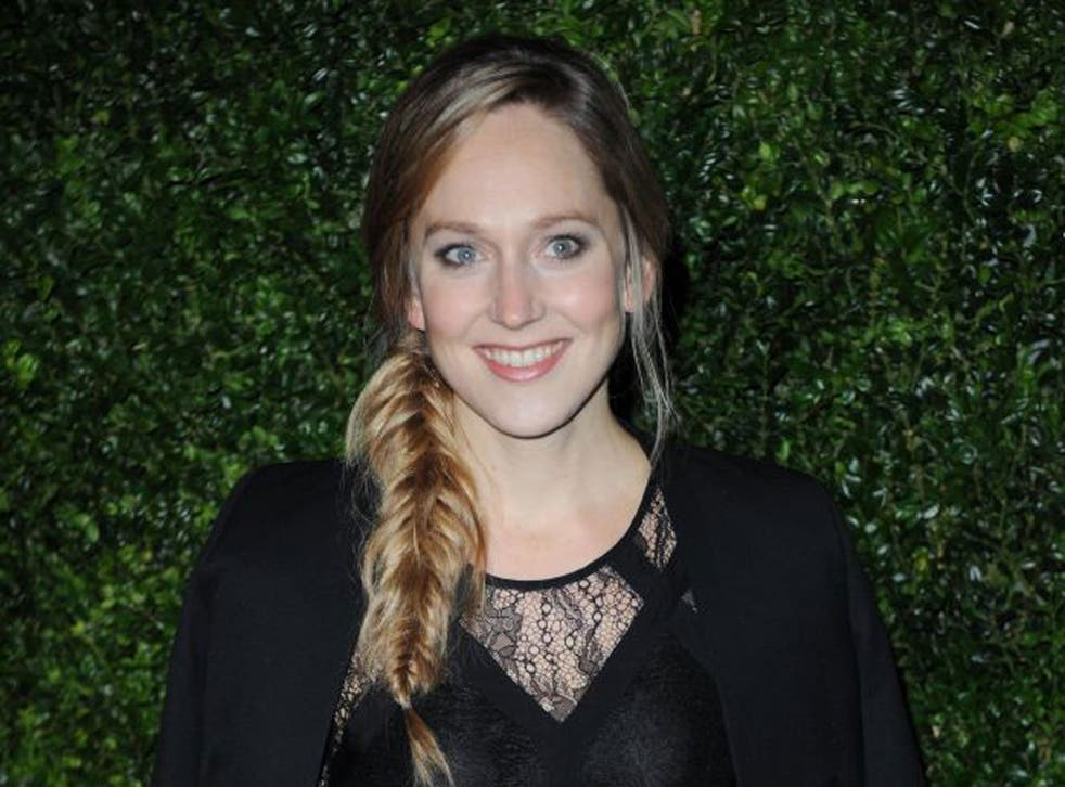 Hattie Morahan attends the 58th London Evening Standard Theatre Awards in association with Burberry in November 2012