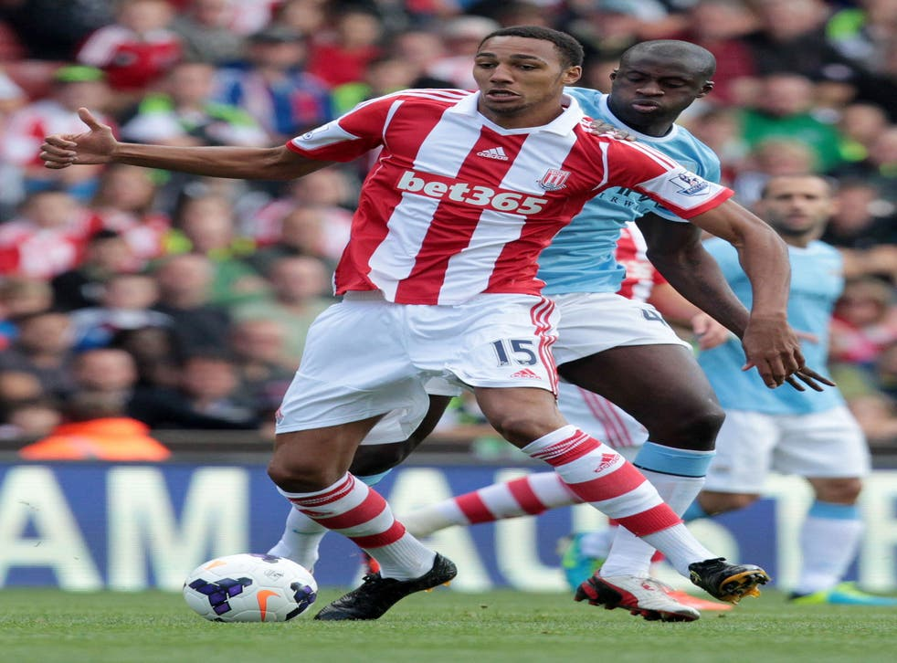 Steven Nzonzi, of Stoke City, was identified via Twitter