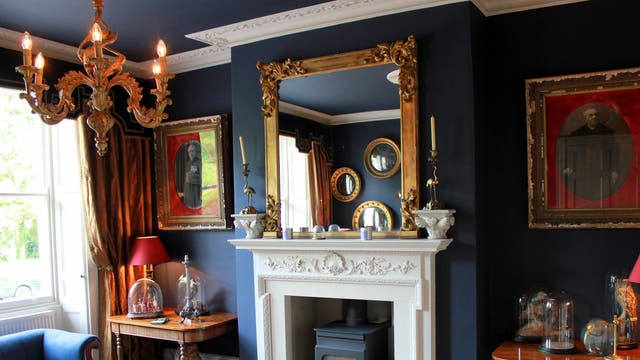 Living museum: The owners have lavished Montpellier House with collectibles