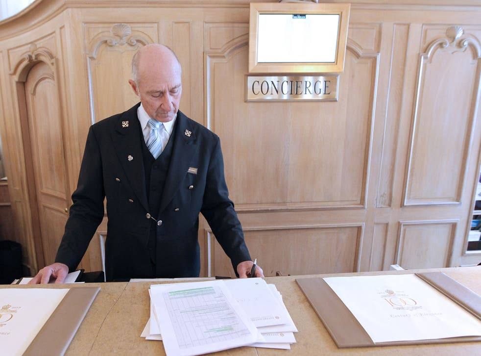 Hotel hero: Concierges need a bulging contacts book and the ability to make outlandish demands happen