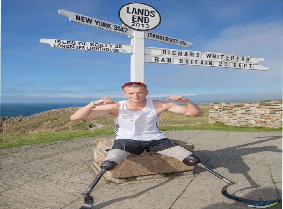 Richard Whitehead, Paralympian