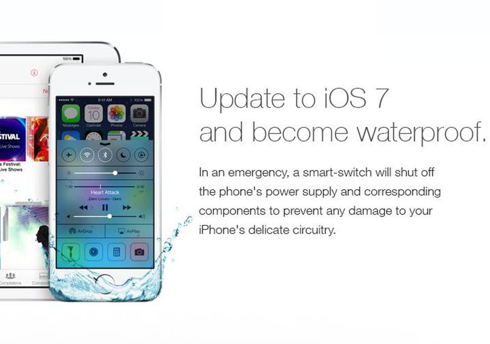 official photos 0c558 768a3 Fake 'waterproof iPhone' ad tricks users into destroying their ...