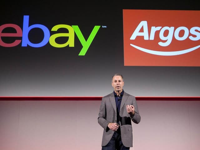 At least 50 eBay merchants and around 150 Argos stores will participate in the Click & Collect service