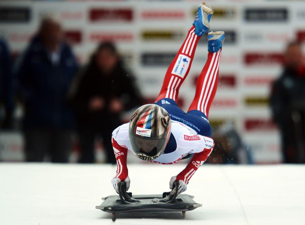Shelley Rudman became skeleton world champion this year