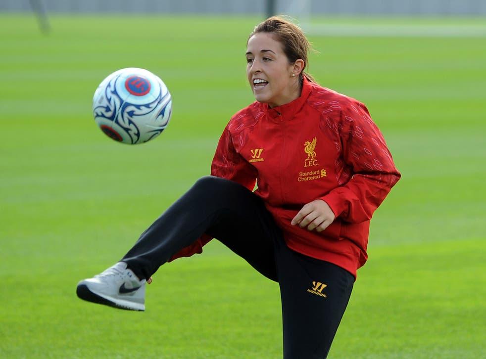 American midfielder Amanda DaCosta is one of six overseas signings Liverpool made in pre season
