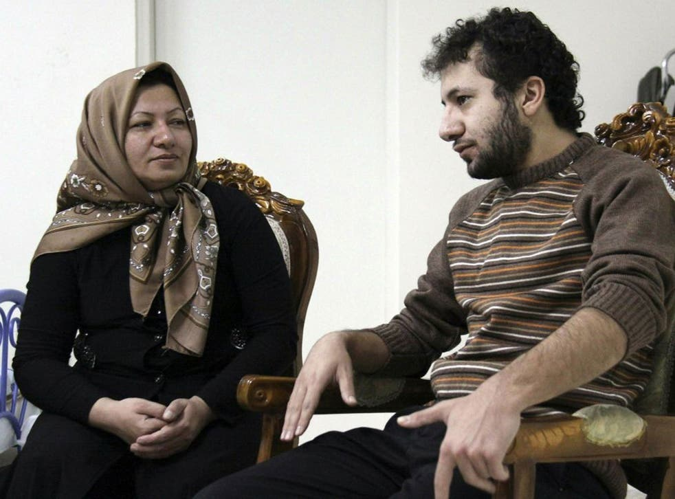 In Iran, Sakineh Mohammadi Ashtiani, here with her son Sajjad, has been sentenced to death by stoning