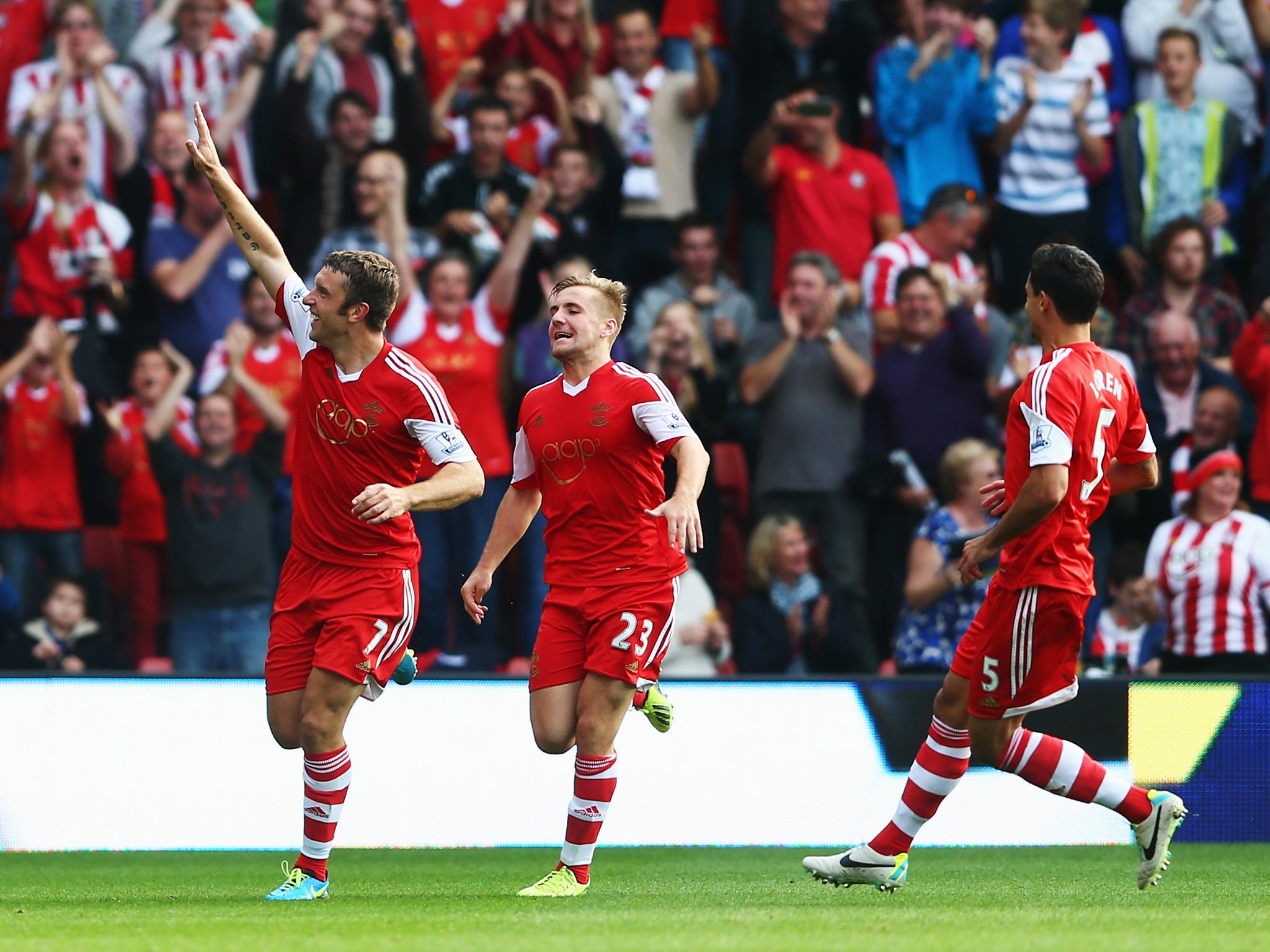Southampton 2 Crystal Palace 0 match report: Saints go fourth as Palace problems multiply | The Independentindependent_brand_ident_LOGOUntitled