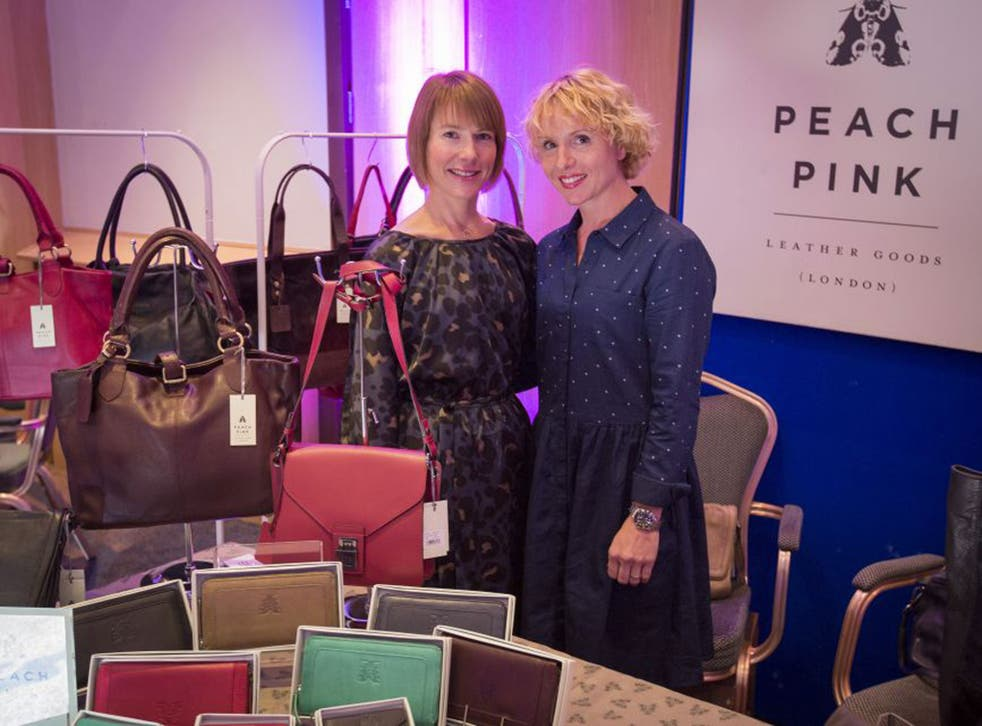 Vanessa Pinkney, left, was the winner of Best Start-Up